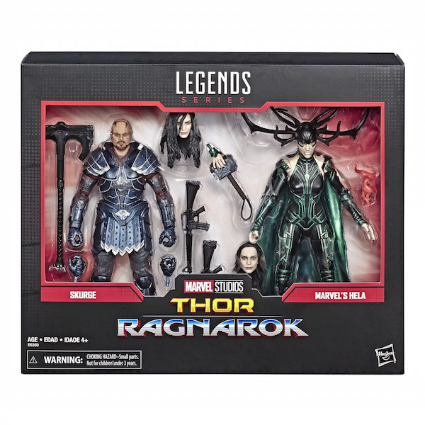 Marvel Legends 80th Anniversary Skurge & Hela 2-Pack Now $24.99 On Amazon