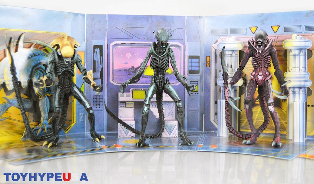 NECA Toys Alien Vs Predator – Arcade Appearance 7″ Scale Alien Xenomorph Figures Review