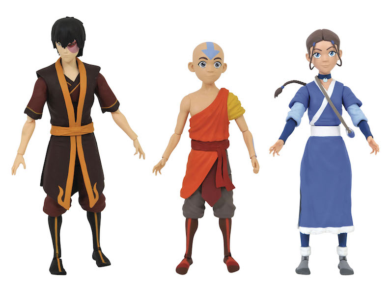 Diamond Select Toys In Stores This Week – New Avatar: The Last Airbender & Marvel PVC Dioramas