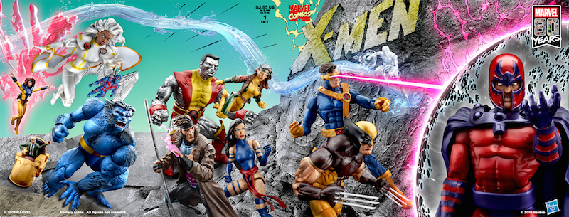 Hasbro Marvel Legends 80th Anniversary Comic Book Covers Coming To SDCC