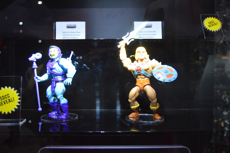 Mattel SDCC 2019 Preview Night – Masters Of The Universe Booth Coverage