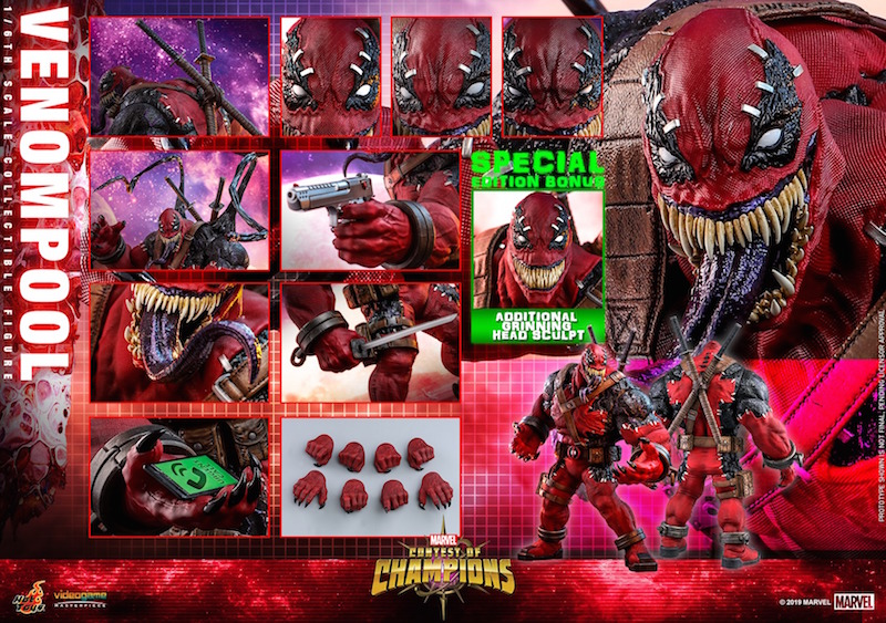 Hot Toys Marvel Contest Of Champions – Venompool Sixth Scale Figure Pre-Orders