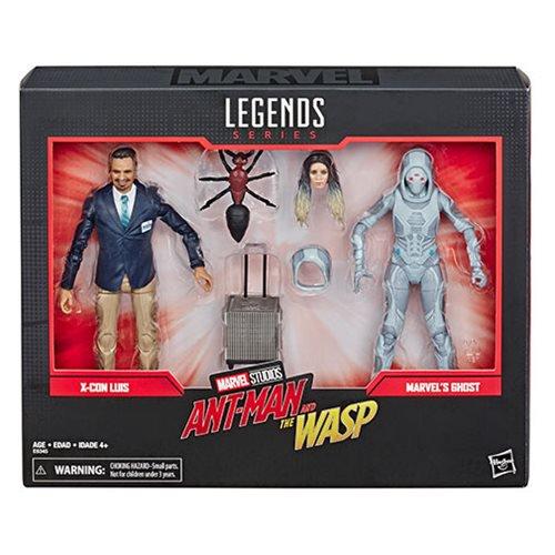 Hasbro Marvel Legends 80th Anniversary Ghost & Luis 6″ Figures $16.85 On Amazon