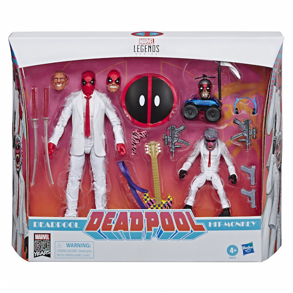 Hasbro Marvel Legends 6″ Deadpool & Hit-Monkey Figure 2-Pack Now $29.99 At Amazon