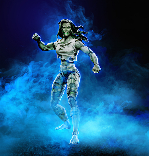 Hasbro Marvel Legends Fantastic Four She-Hulk Figure $14.99 On Amazon