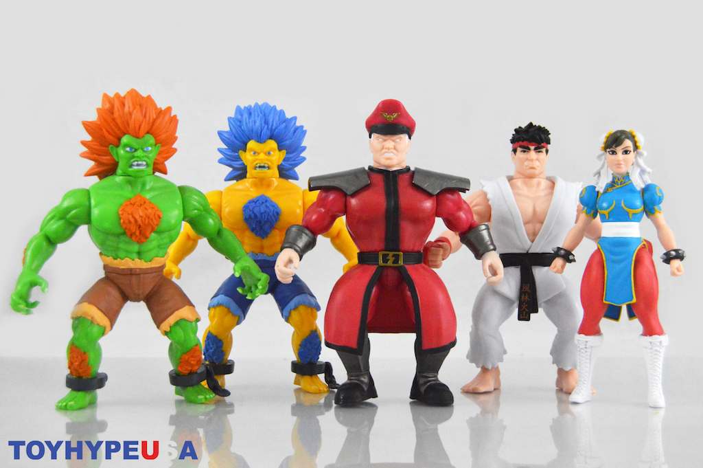 Funko Street Fighter Savage World 5″ Figures Review