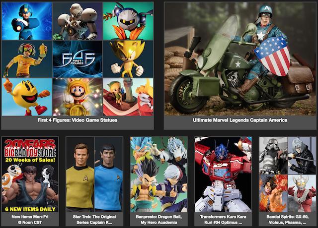 BigBadToyStore News – Star Trek, Marvel Legends, Dragon Ball, My Hero Academia, Transformers, Cowboy Bebop, Batman & More