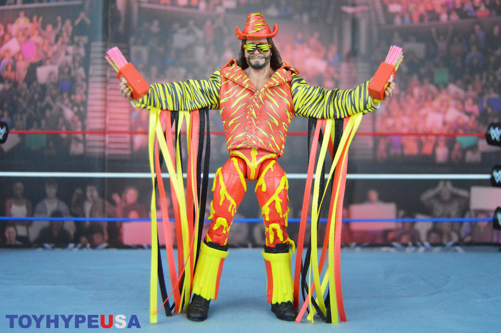 "Mattel San Diego Comic-Con 2019 Exclusive – WWE ""Macho Man"" Randy Savage Figure Review"