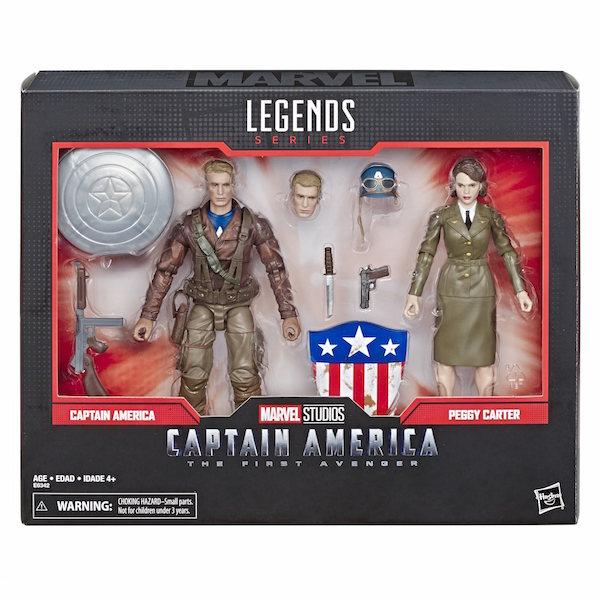 Hasbro Marvel Legends 6″ Captain America: The First Avenger – Captain America & Peggy Carter 2-Pack In-Stock On Amazon