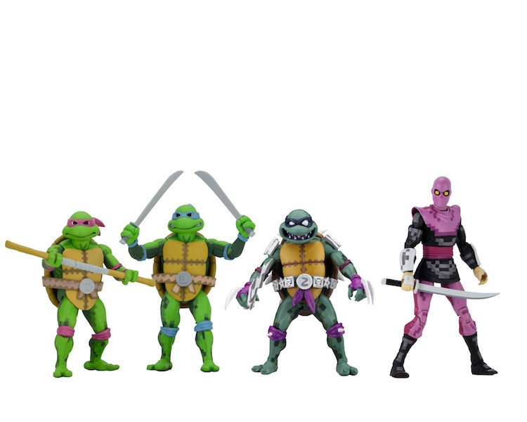 NECA Toys Shipping Update – Teenage Mutant Ninja Turtles: Turtles In Time Wave 1 Figures