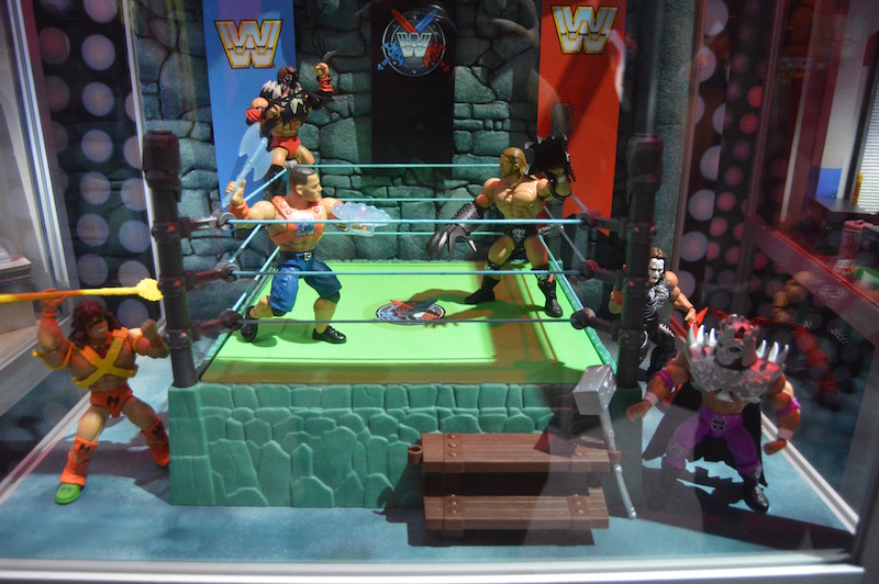 Mattel SDCC 2019 – WWE/Masters Of The Universe Inspired Figures