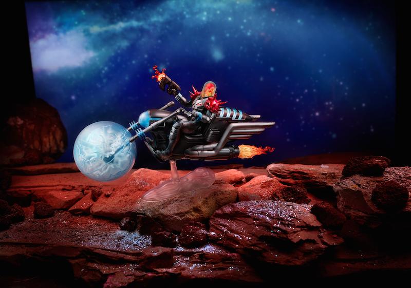 Hasbro Marvel Legends 6″ Cosmic Ghost Rider With Bike Figure Reissue & Pre-Orders