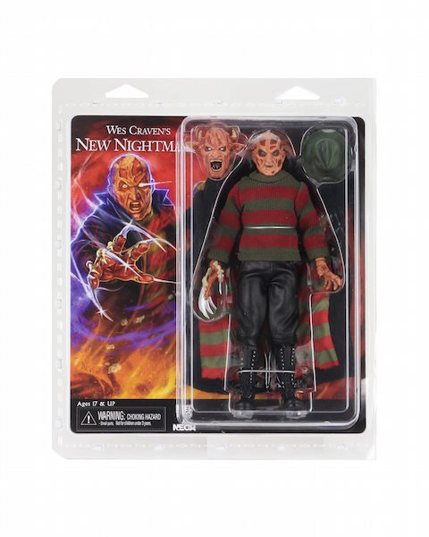 NECA Toys – A Nightmare On Elm Street 8″ Clothed New Nightmare Freddy Figure In-Packaging