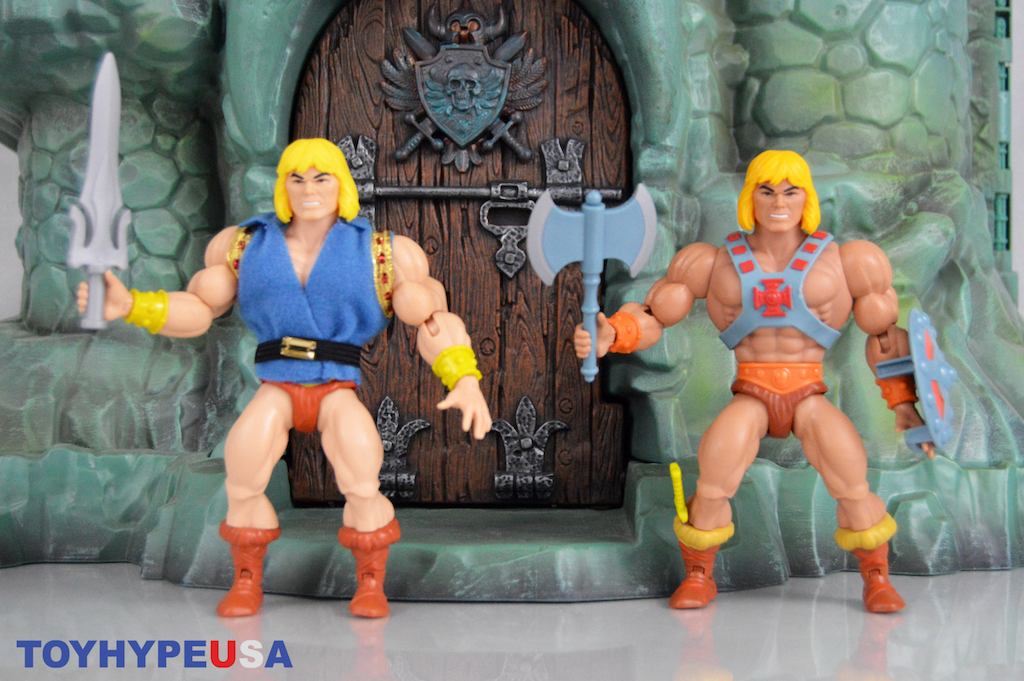 Mattel SDCC 2019 Exclusive – Masters Of The Universe Origins Prince Adam & He-Man 2-Pack Figures Review