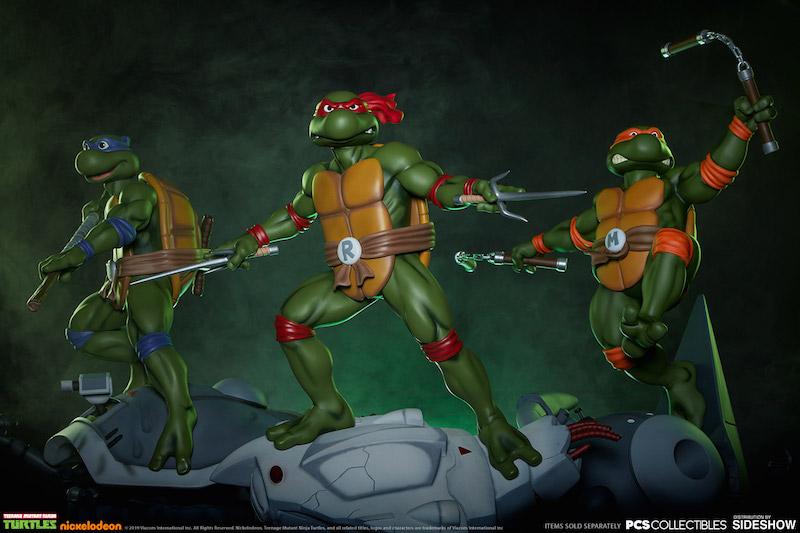 Pop Culture Shock Teenage Mutant Ninja Turtles Michelangelo Statue Pre-Orders