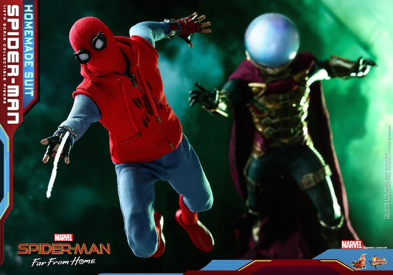Hot Toys Spider-Man: Far From Home – Homemade Suit Spider-Man Sixth Scale Figure