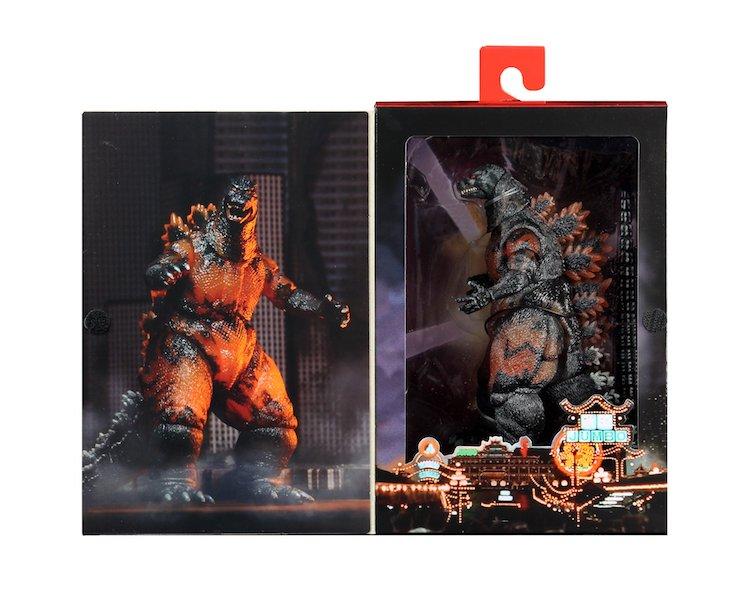 NECA Toys Burning Godzilla From Godzilla Vs Destroyah Re-Release