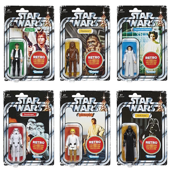 Entertainment Earth – Star Wars The Retro Collection 3 3/4″ Individual Figure Pre-Orders