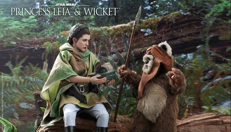 Hot Toys Star Wars Princess Leia & Wicket Sixth Scale Figure Set Pre-Orders