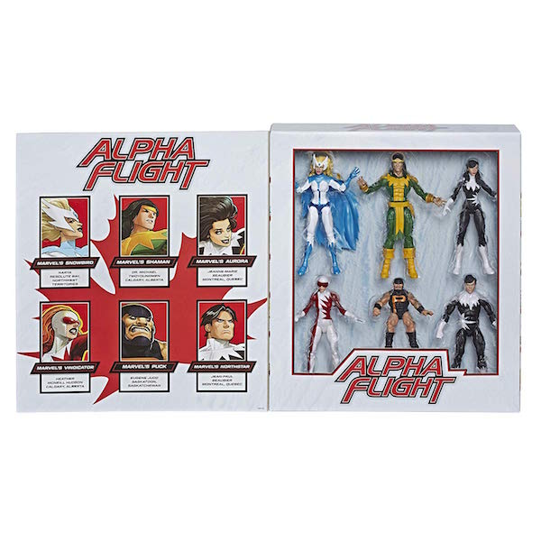 Hasbro Marvel Legends 6″ Alpha Flight Box Set Now $76.99 On Amazon (Update)