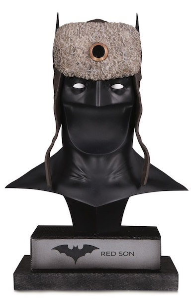 DC Direct Shipping This Week – DC Gallery: Red Son Batman Cowl