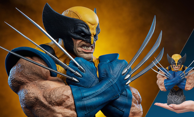 Sideshow Collectibles X-Men Wolverine Bust Pre-Orders