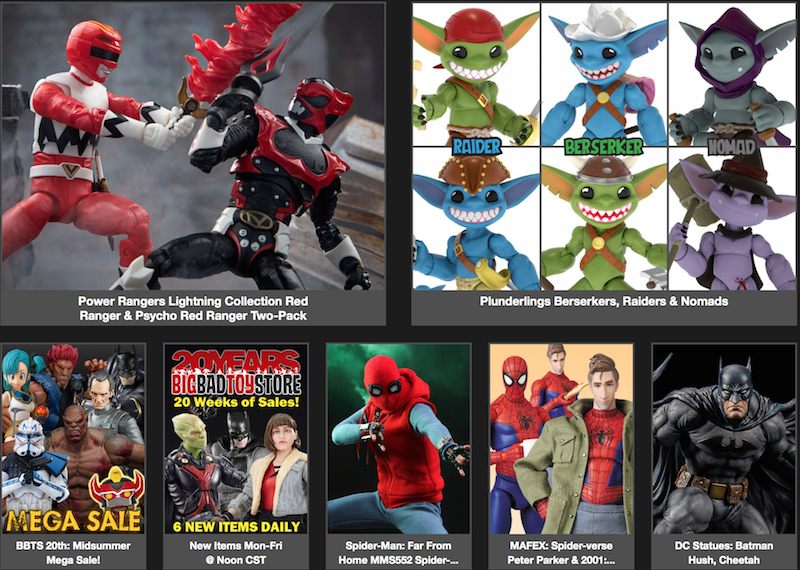 BigBadToyStore News – Spider-Man, Power Rangers, Transformers, Marvel Legends, Fortnite, Star Wars, Game Of Thrones, Harry Potter & More