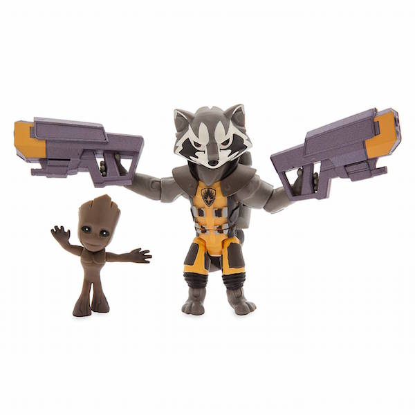 Disney Store Exclusive – Rocket Raccoon, Sulley & Poe Dameron Toy Box Figures Available Now