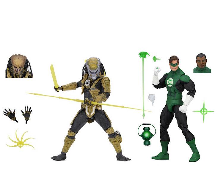 NECA Toys New York Comic-Con 2019 Exclusive – Green Lantern & Sinestro Corps Predator 2-Pack