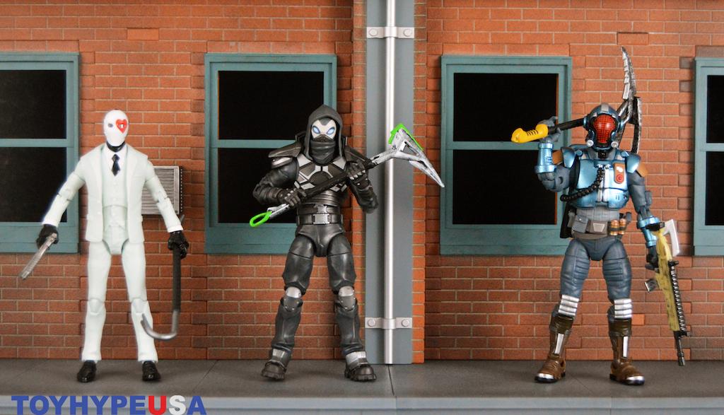 Jazwares – Fortnite 6″ Legendary Series Wave 1 Enforcer, The Visitor & Wild Card Figures Review