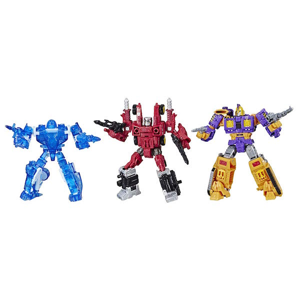 Hasbro Transformers War for Cybertron Deluxe With Holo Mirage, Powerdasher Aragon, & Decepticon Impactor Set Now $37.99