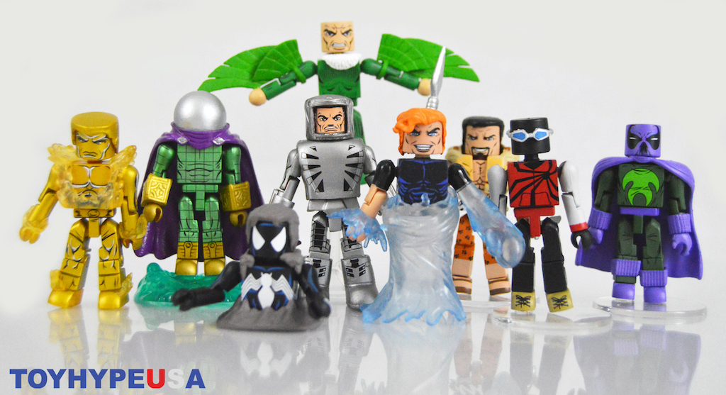 Diamond Select Toys Marvel Minimates Series 77 Figures Review