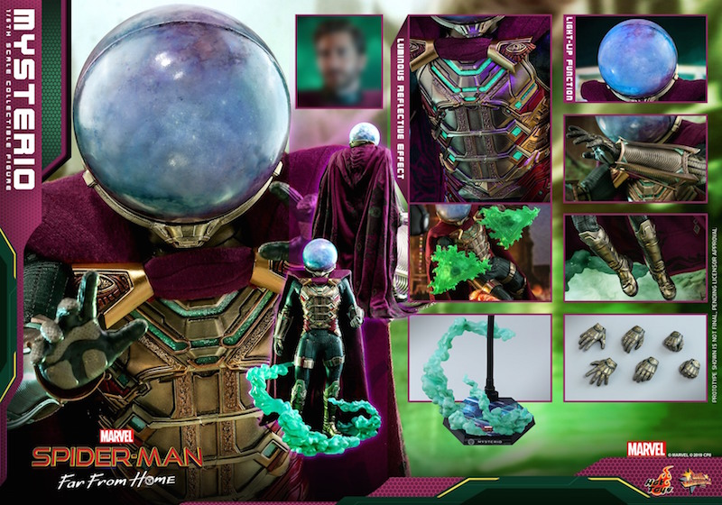 Hot Toys Spider-Man: Far From Home – Mysterio Sixth Scale Figure Update