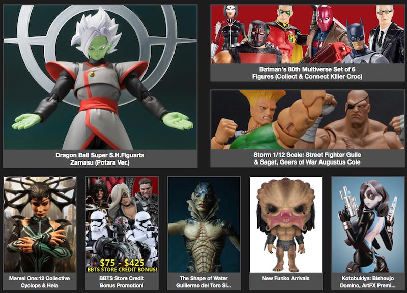 BigBadToyStore News – Black Manta, Chucky, Zelda, Super7 ReAction, Fullmetal Alchemist, Magento, Acid Rain, Multiverse & More
