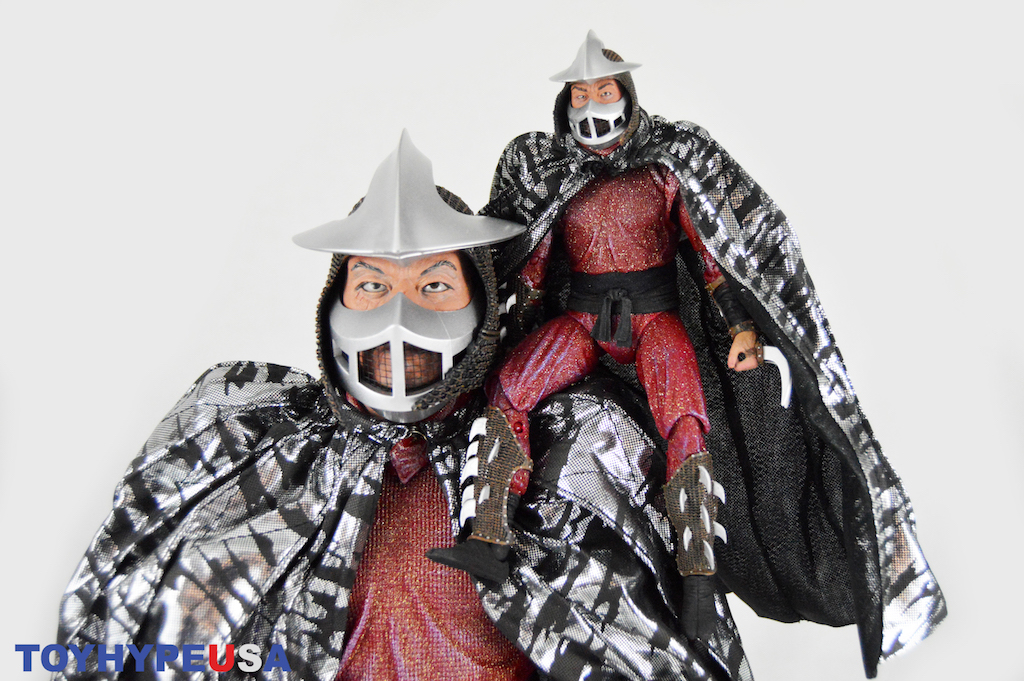 NECA Toys Teenage Mutant Ninja Turtles 1/4″ Scale Shredder Figure Review