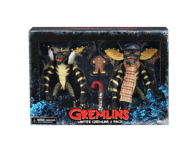 NECA Toys Gremlins 7″ Scale Christmas Carol Winter Scene 2-Pack Available Now