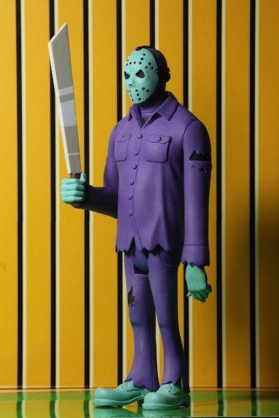 NECA Toys Toony Terrors Friday The 13th Jason Voorhees & A Nightmare On Elm Street Freddy Krueger Video Game Deco Figures