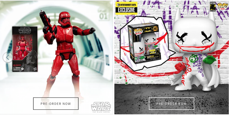 Entertainment Earth – Bandai & The Loyal Subjects Sale, DC, Marvel, LEGO & New Daily Deals