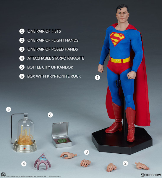 Sideshow Collectibles DC Comics Superman Sixth Scale Figure Pre-Orders