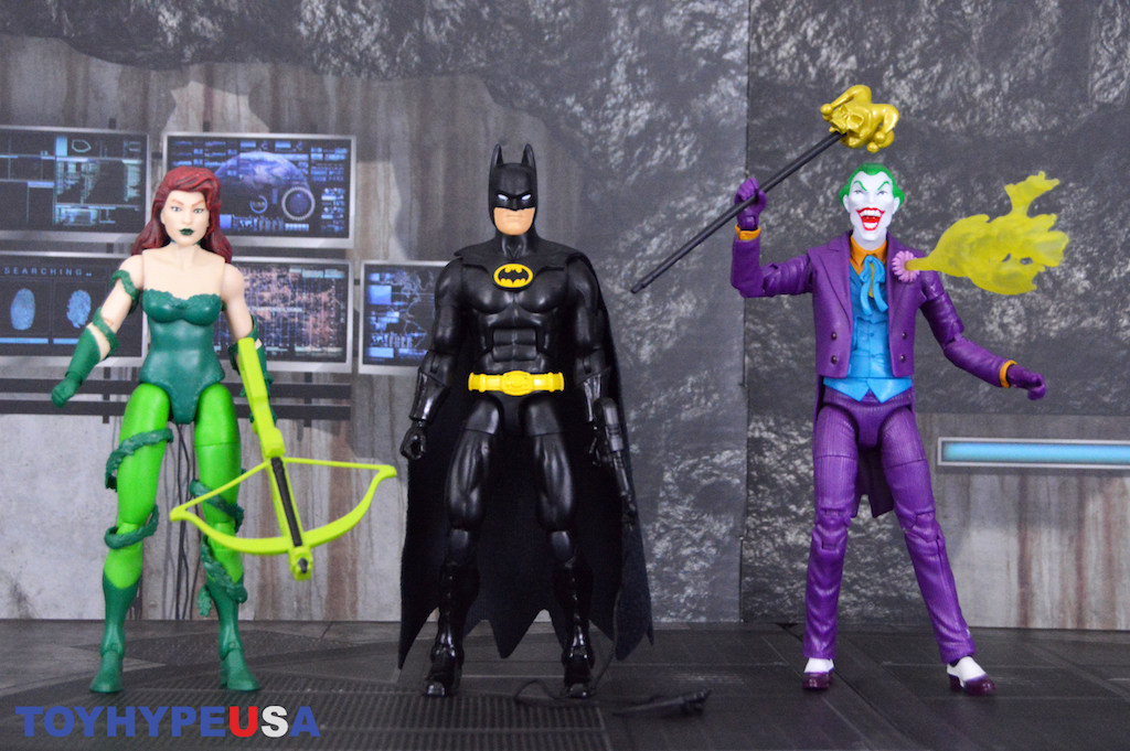 Mattel – DC Comics Originals Batman, Joker, & Poison Ivy Figures Review