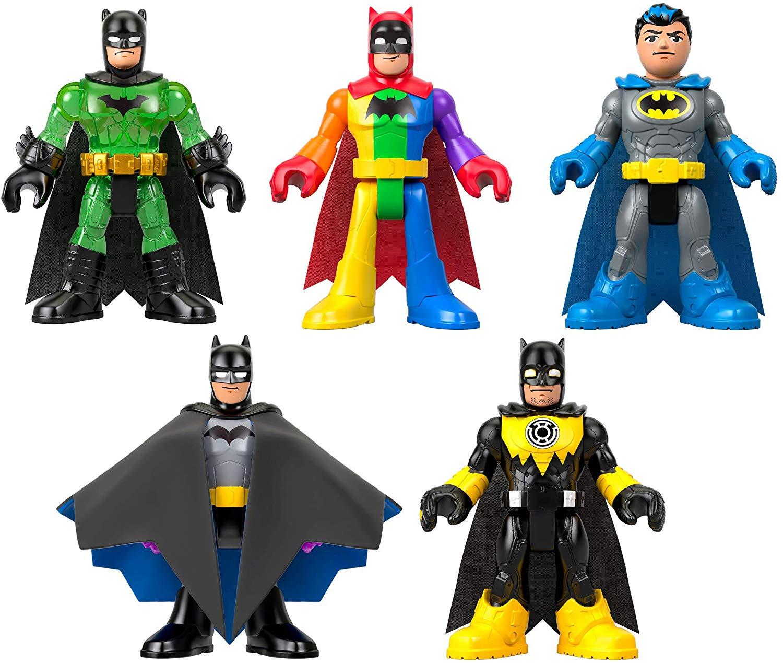 Fisher-Price Imaginext DC Super Friends Batman 80th Anniversary Collection Box Set Pre-Orders