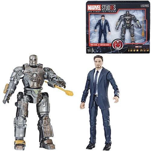 Hasbro Marvel Legends 6″ Tony Stark & Iron Man Mark I Set Available Now