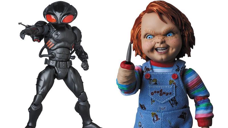 Medicom – MAFEX Aquaman Movie – Black Manta & Child's Play 2 Chucky Figure Pre-Orders
