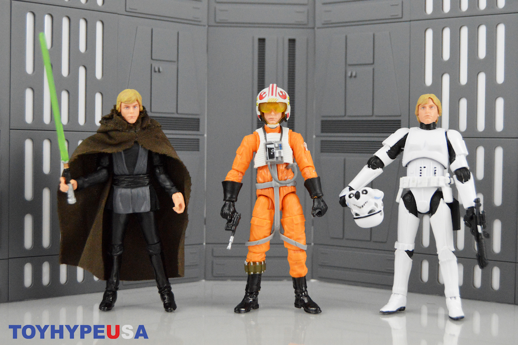 Hasbro San Diego Comic-Con 2019 Exclusive – Luke Skywalker Jedi Destiny 3-Pack Figures Review