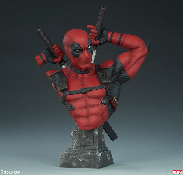Sideshow Collectibles Marvel Comics – Deadpool Bust Pre-Orders