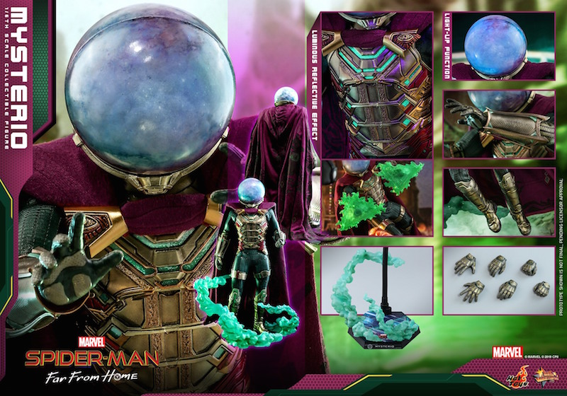 Hot Toys Spider-Man: Far From Home – Mysterio Sixth Scale Figure Pre-Orders