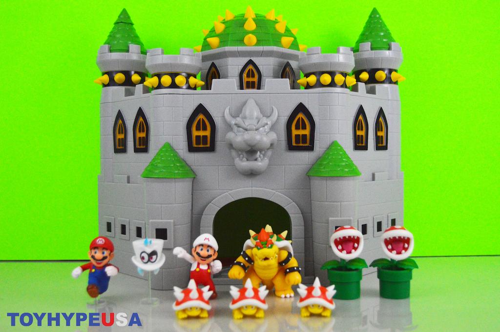 Jakks Pacific Nintendo Bowser's Castle Playset Review