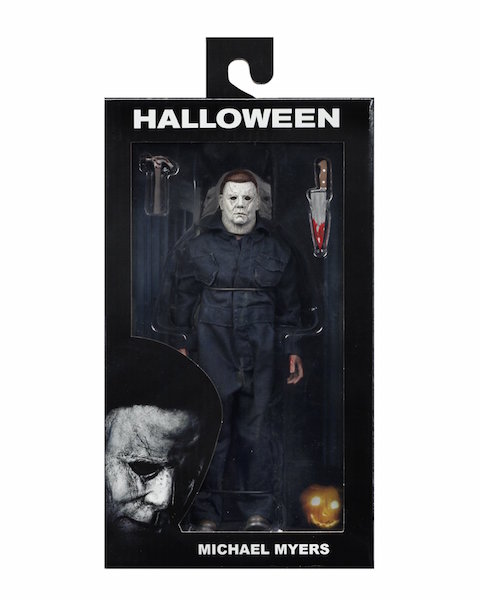 NECA Toys Halloween Movie 2018 Michael Myers 8″ Clothed Figure Available Now