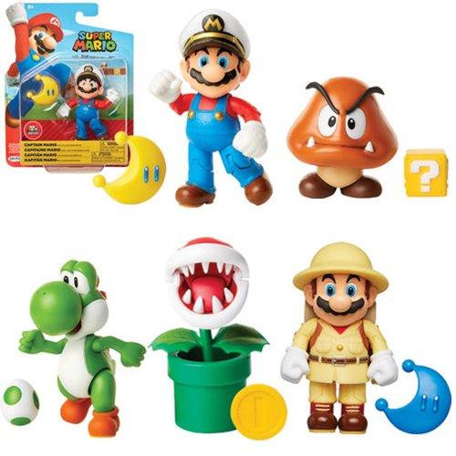 Jakks Pacific World Of Nintendo 4″ Wave 17 & More New Figure Pre-Orders