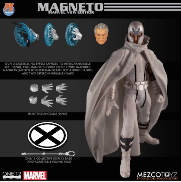 Mezco Toyz Marvel One:12 Collective Magneto (Marvel Now Edition) PX Exclusive
